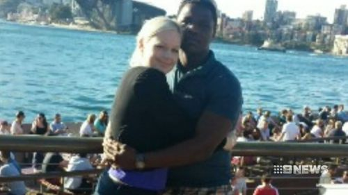 Nathan Chatimba (right) and Cassie Sanders.