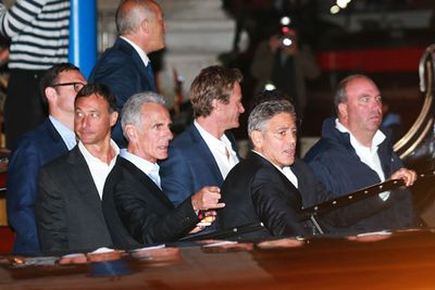 Parting ways from his bride-to-be, George spent his final night as a single man downing tequila shots and vintage wine with his best man Rande Gerber and groomsmen at the exclusive five-star Cipriani Hotel. <br/><br/>After shaking off the paps, Clooney headed to Da Ivo near Saint Mark's Square where he dined with friends. <br/><br/>The 53-year-old actor had 100 cases of his own tequila label flown to his wedding... which is probably why he opened up a few bottles at the stag night. <br/>