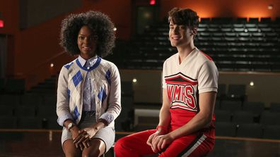 Samantha Ware in Glee.