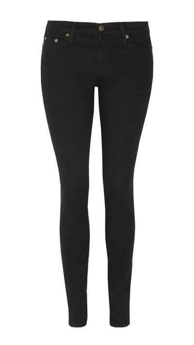 <p>The black skinny jean</p>