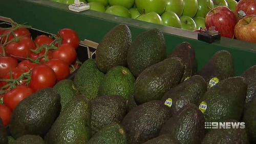 Avocados are retailing for $7 each at some greengrocers as supply transitions from the Hass variety to the Shepard variety.