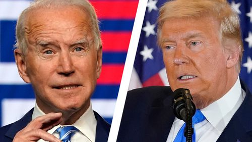 Joe Biden and Donald Trump are still locked in a battle for the White House with who won the US election yet to be declared.