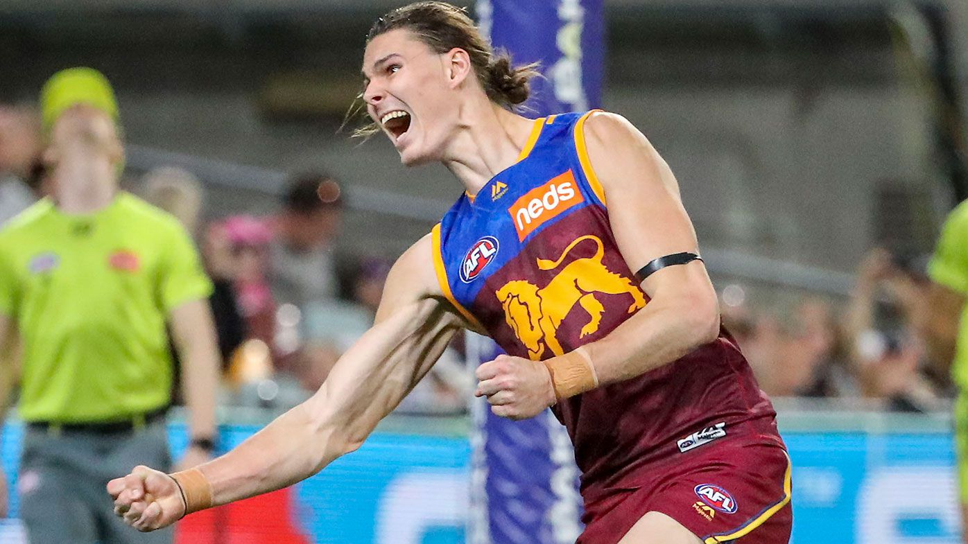 Electrifying Eric Hipwood second-half spurt gives Brisbane Lions win over Melbourne