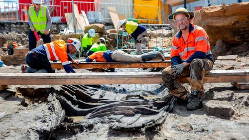 Maritime archaeologists will attempt to remove the boat in one piece.