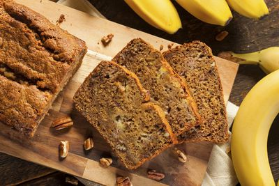 <strong>Pop yoghurt in your banana bread</strong>