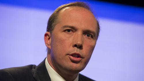 Immigration Minister Peter Dutton links asylum seekers with terrorism