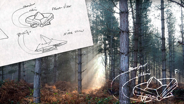 Rendlesham Forest UFO graphic