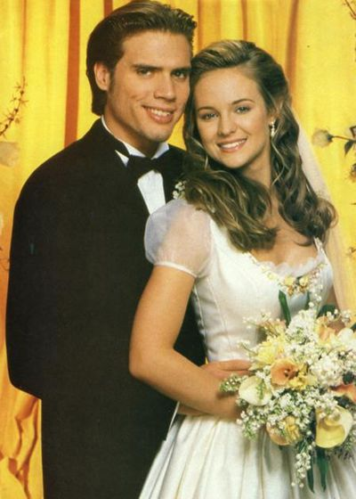 Nick (Joshua Morrow) and Sharon (Sharon Case): Then