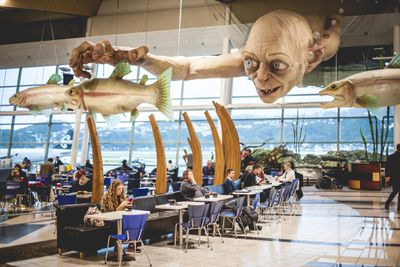 See the world's biggest Gollum in Wellington