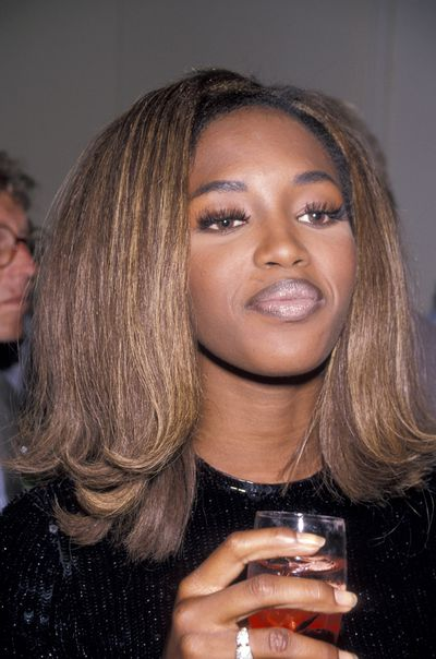 <p>False Eyelashes</p> <p>Muse - Naomi Campbell pictured in 1990</p>