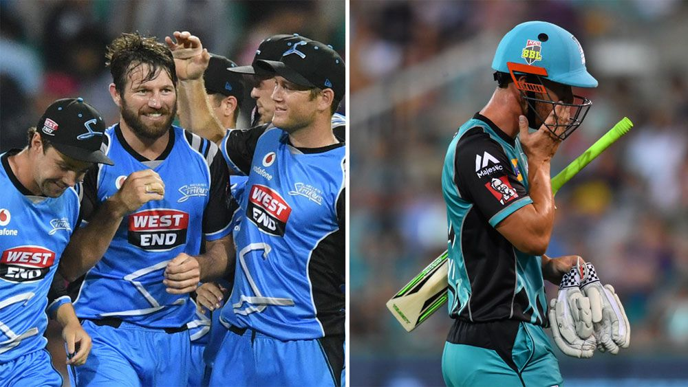 Adelaide Strikers thrash Brisbane Heat on New Years Eve to top Big Bash League competition