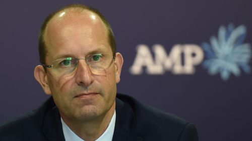 AMP CEO Craig Meller quits over scandals. (AAP)