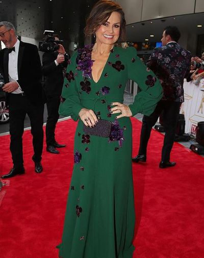 <em>The Project</em>'s Lisa Wilkinson at the 2018 Logie Awards