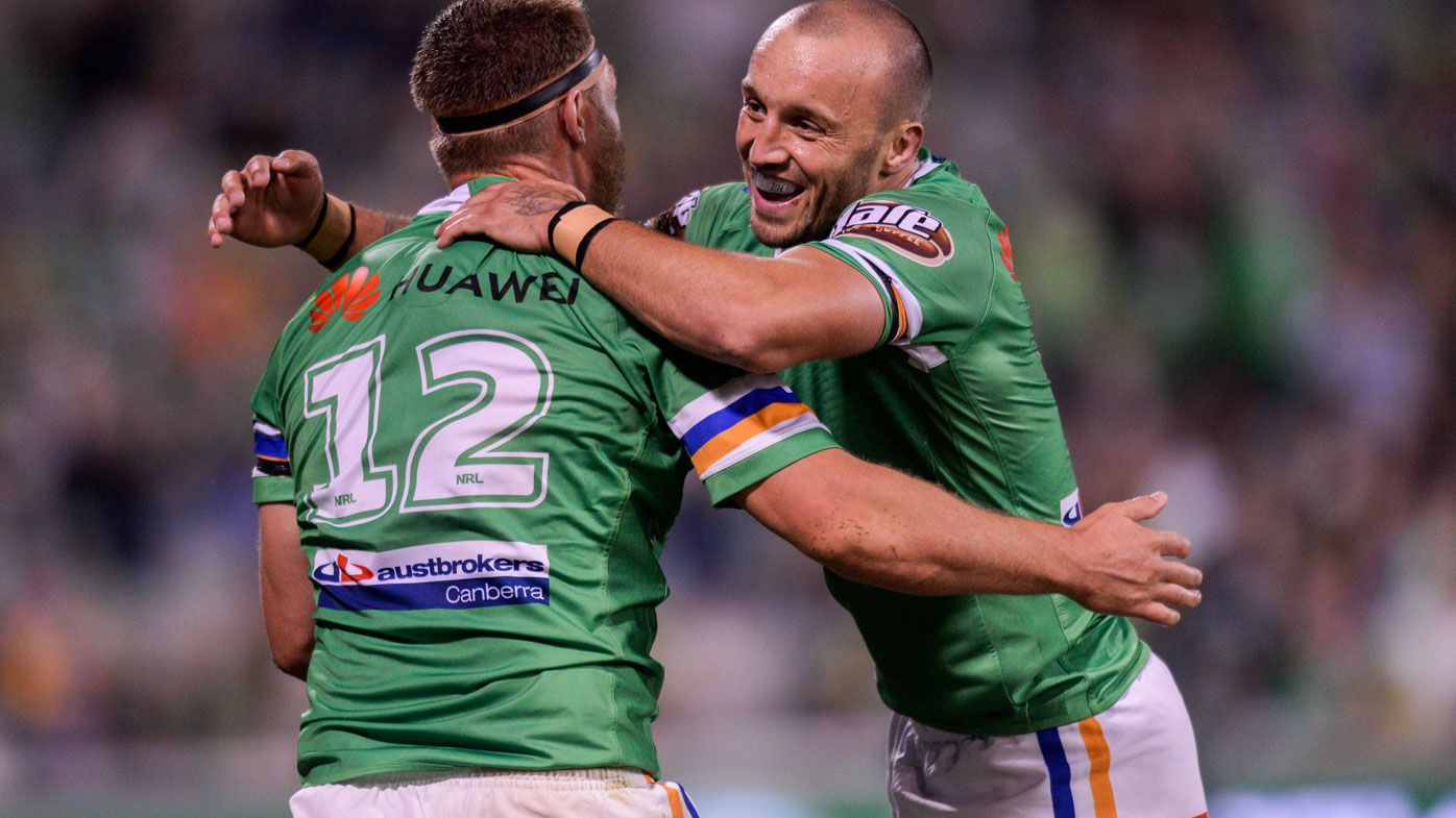 Raiders down the Eels at GIO Stadium
