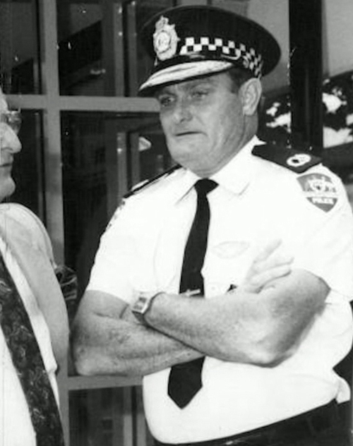 Colin Winchester was gunned down in 1989. Picture: Supplied