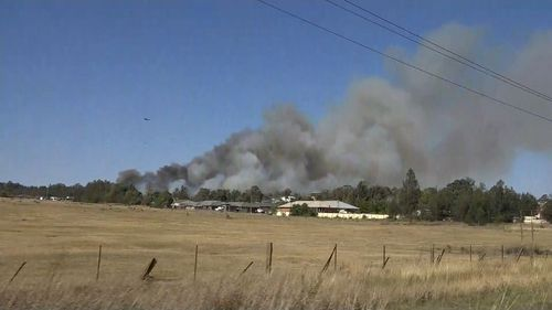 Police are investigating at least three possible arson attacks after today's catastrophic fire conditions.