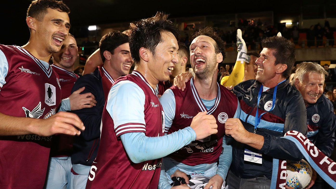 Kitchenhand sinks Victory in stunning  FFA Cup win