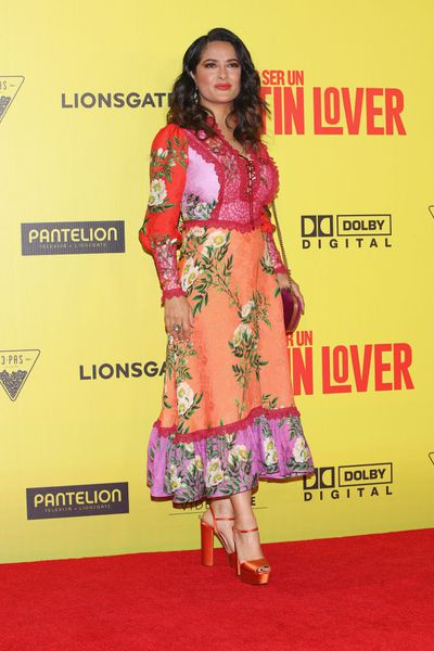 <p>Salma Hayek gave birth at 40.</p> <p>The actress and husband Francois-Henri Pinault, had a daughter together in 2007.</p>