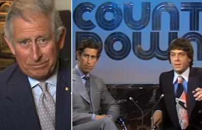 Prince Charles on Countdown with Molly Meldrum