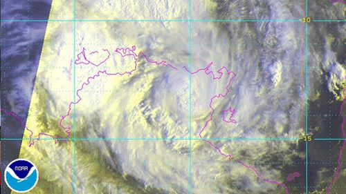 Cyclone Lam shrinks to category two in NT