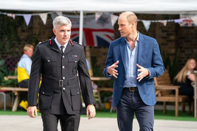 Prince William during an official visit on September 9.