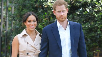 Prince Harry and Meghan Markle, October 2019