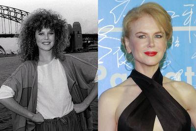 THEN: The pose, the hair, the freckles! Nicole Kidman was unrecognisable in her <i>BMX Bandits</i> days!<br/><br/>NOW: With the invention of hair straighteners and a heavy coat of concealer, these days she's strikingly different to her '80s counterpart.