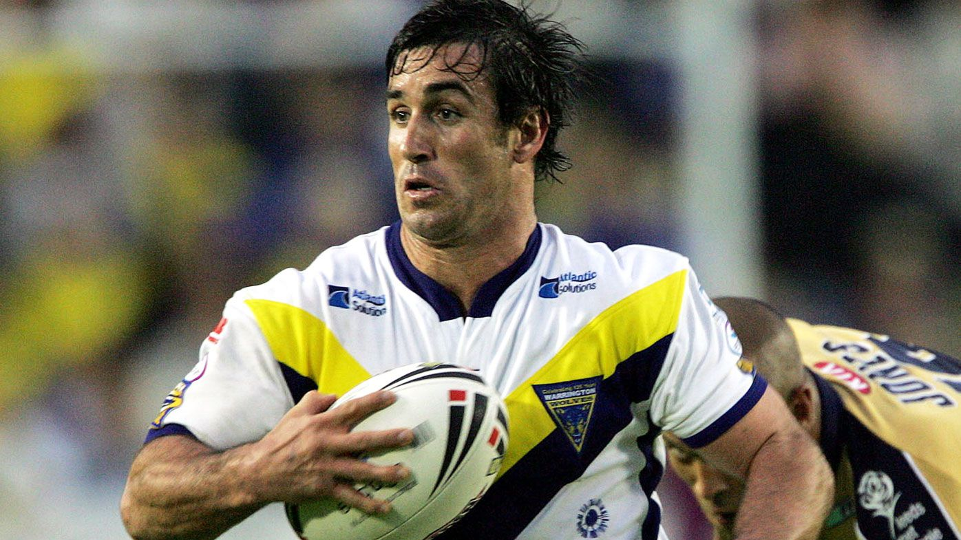 Nine NRL commentator Andrew Johns to play for Warrington Wolves against South Sydney Rabbitohs