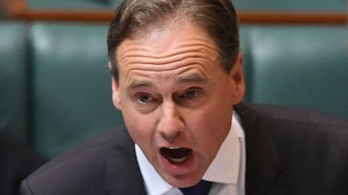 Greg Hunt has apologised for a tirade six months ago at the female Mayor of Katherine. Picture: AAP