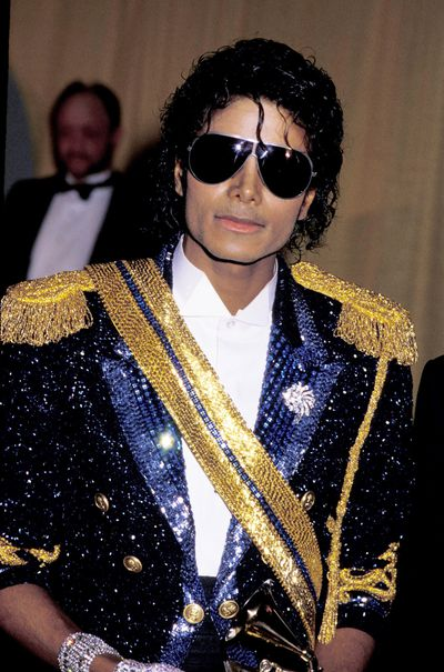 Michael Jackson at the 26th Annual Grammy Awards in Los Angeles, February 1984
