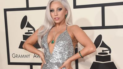 Gone are the days where Lady Gaga dressed in sparkly twine and erm, meat for award's shows. <br/><br/>Our new favourite glamazon just rocked the Grammys 2015 red carpet, ramping up the sexy in a super-sequinned frock and a seriously naughty neckline. <br/><br/>See why we're going gaga for new Gaga here...