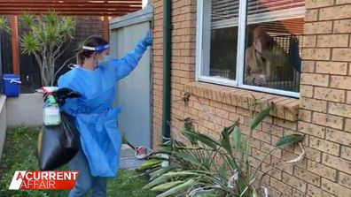 Aussie family operates COVID-19 ward from home.