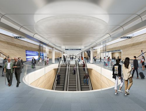 The station will be excavated to make way for the Sydney Metro.