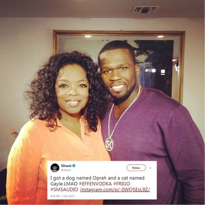 <strong>50 CENT VS OPRAH</strong>