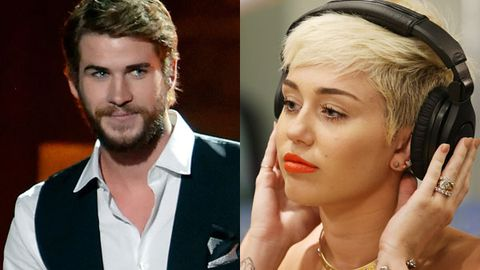miley cyrus / liam hemsworth