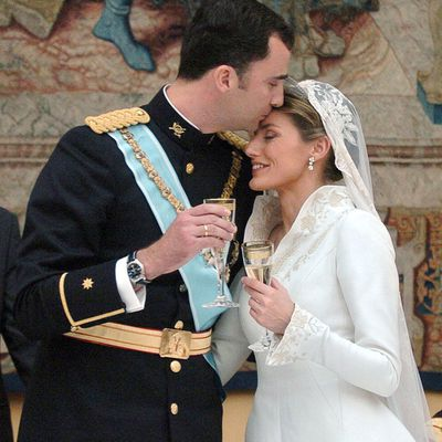 Crown Prince Felipe and Letizia Ortiz