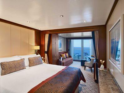 Seabourn veranda suite