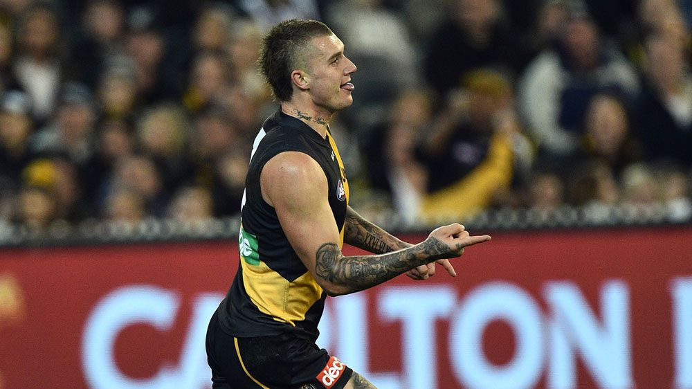 Dustin Martin's Brownlow Medal hopes remain alive