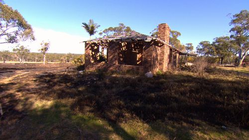Children were spotted playing near an abandoned house at around the time the fire was lit. Picture: 9NEWS