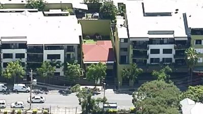Apartment blocks have surrounded the home for the past 15 years. (9NEWS)