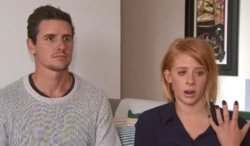 Gavin Fry and his fiancé Leah Meurer were sleeping in their Kings Park home on Friday when they woke to thugs shining a light on them demanding they hand over their car keys. (Supplied)