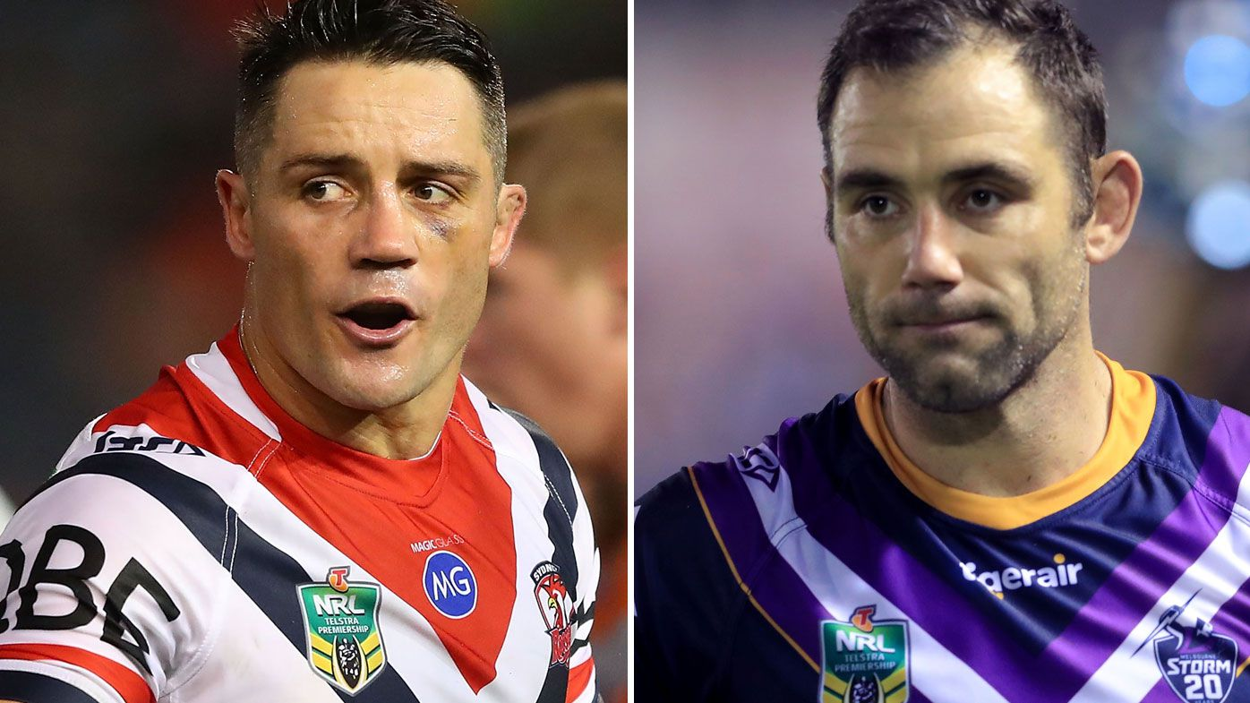 Cooper Cronk and Cameron Smith