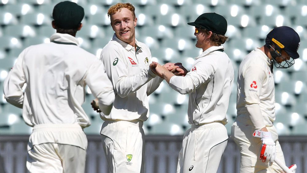 England lament 'sloppy' dismissals in tour game against Cricket Australia XI in Adelaide