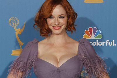 """It's not clear if <b>Christina Hendricks</b> or <b>Kate Waterhouse</b> was the loser when the sultry redhead shut down the interview after Waterhouse called her """"fuller figured"""". Sure, Hendricks must get sick of it, but she must know it's a large (pardon the expression) part of her appeal."""
