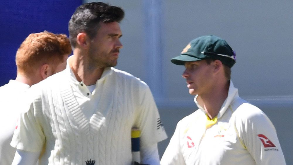 England's James Anderson renews hostilities with Australian captain Steve Smith ahead of third Ashes Test