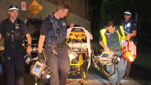 All three boys were taken to hospital where one is suffering from a serious abdominal injury. (9NEWS)