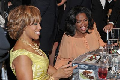 "The most tired (and persistent) rumour that has dogged Oprah's career is that she and long-time best friend Gayle King are secret lesbians. Like most things, Oprah has taken the gossip in her stride. In a recent episode that saw she and Gayle touring the US together, they poked fun at the rumour: ""Let's just add to that lesbian rumour,"" Gayle said as they climbed into their shared caravan. ""Come on in, baby!"" To which Oprah replied, in her trademark bellow, ""Lesbian ruuuuummouuuurrrrrsssss!"""