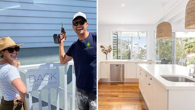 Block stars Andy and Deb Saunders have purchased, renovated and styled a holiday House in New South Wales
