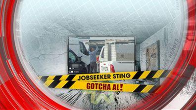 Jobseeker sting