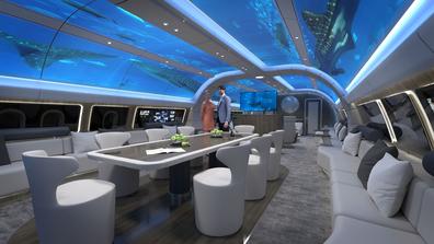 Lufthansa Technik AG underwater cabin concept